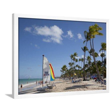 Bavaro Beach, Punta Cana, Dominican Republic, West Indies, Caribbean, Central America Framed Print Wall Art By Frank Fell Dominican Republic Caribbean Framed
