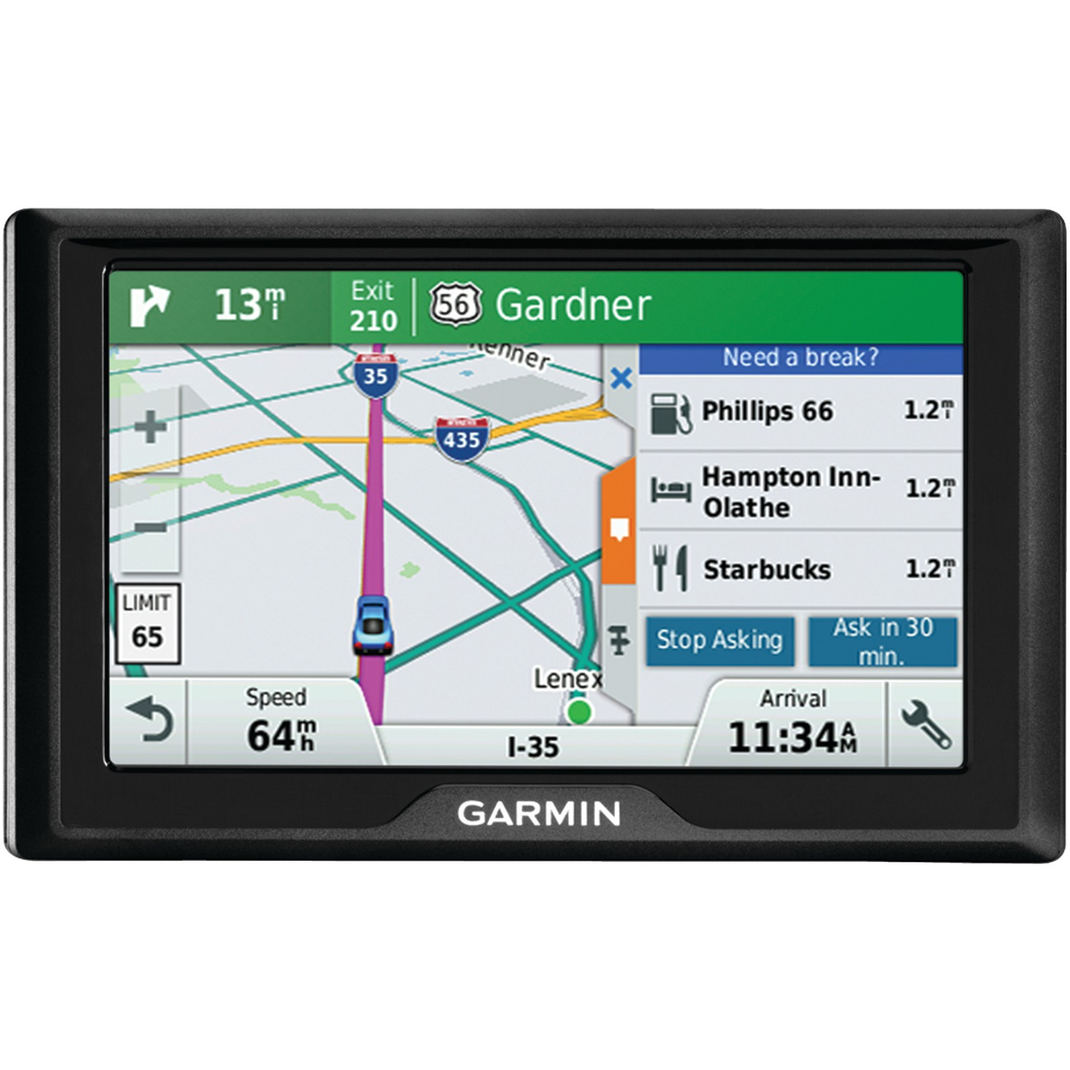 "Garmin 010-01532-0C Drive 50 5"" Gps Navigator (50lm, With Free Lifetime Map Updates For The Us)"