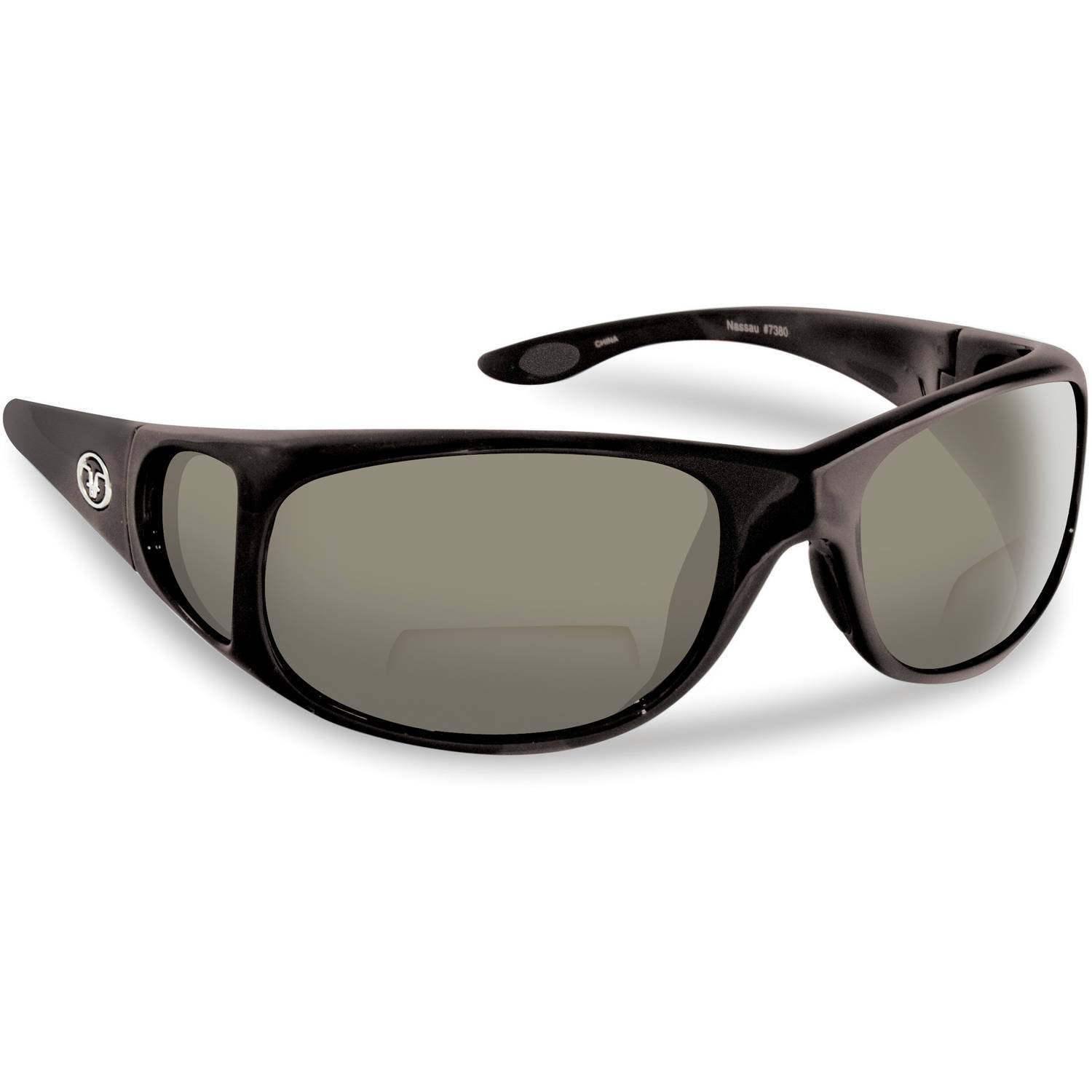 Flying Fisherman Nassau Polarized Sunglasses, Black Frame...
