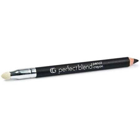 CoverGirl Perfect Blend Eye Pencil, Basic Black [100], 0.03 oz (Pack of 2)
