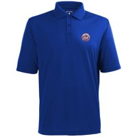 New York Mets Antigua Desert Dry Xtra-Lite Team Polo - Royal Blue