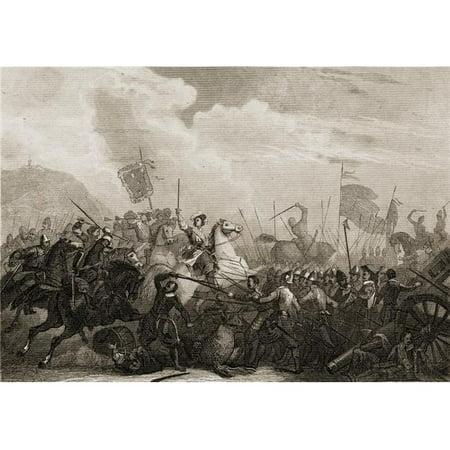 Posterazzi DPI1860031 The Battle of Monjuich Spain 1706 Poster Print, 18 x 12 - image 1 de 1
