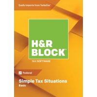 H&R Block Tax Software 2018 Basic Win (Email Delivery)