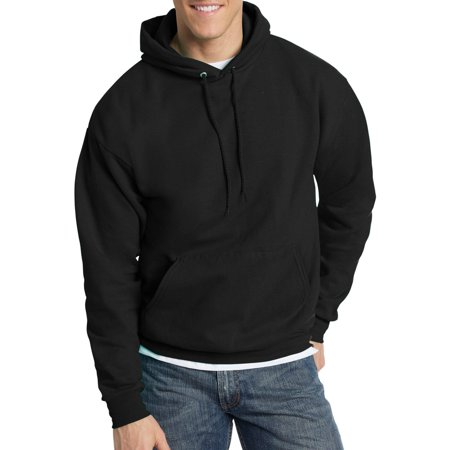 Big   Tall Mens Ecosmart Fleece Pullover Hoodie With Front Pocket