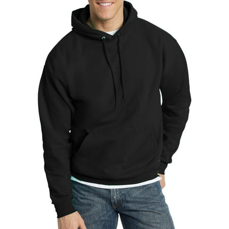 - Hanes Big & Tall Men's EcoSmart Fleece Pullover Hoodie with Front Pocket