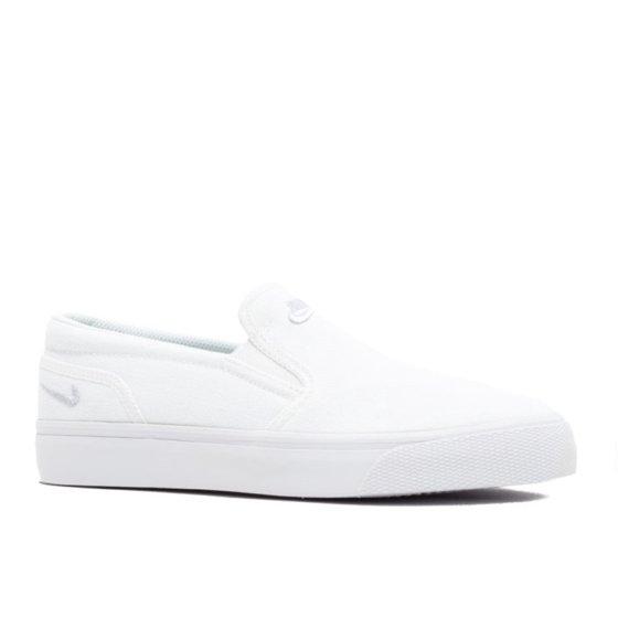 e3a9ab23f02c Nike - WMNS TOKI SLIP CANVAS - 724770-100 - Walmart.com