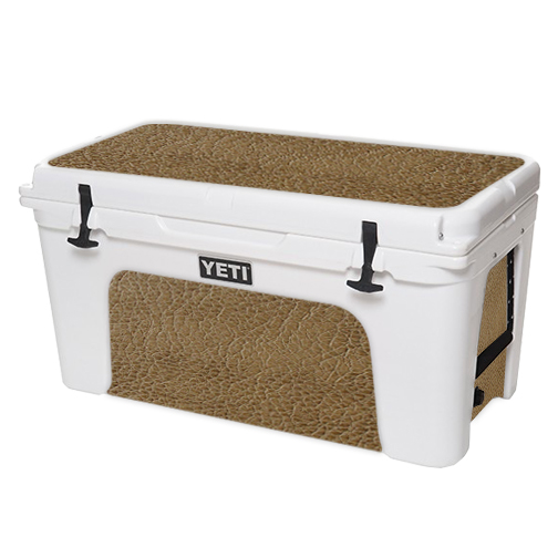 MightySkins Protective Vinyl Skin Decal for YETI Tundra 110 qt Cooler Lid wrap cover sticker skins Bamboo
