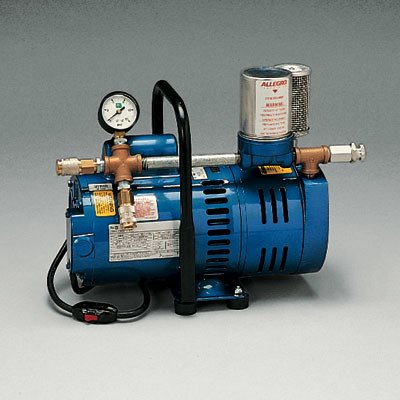 Allegro 9821 Ambient Air Pump Model A750 Oil-Less For Up To Two Respirator Or One Hood Workers