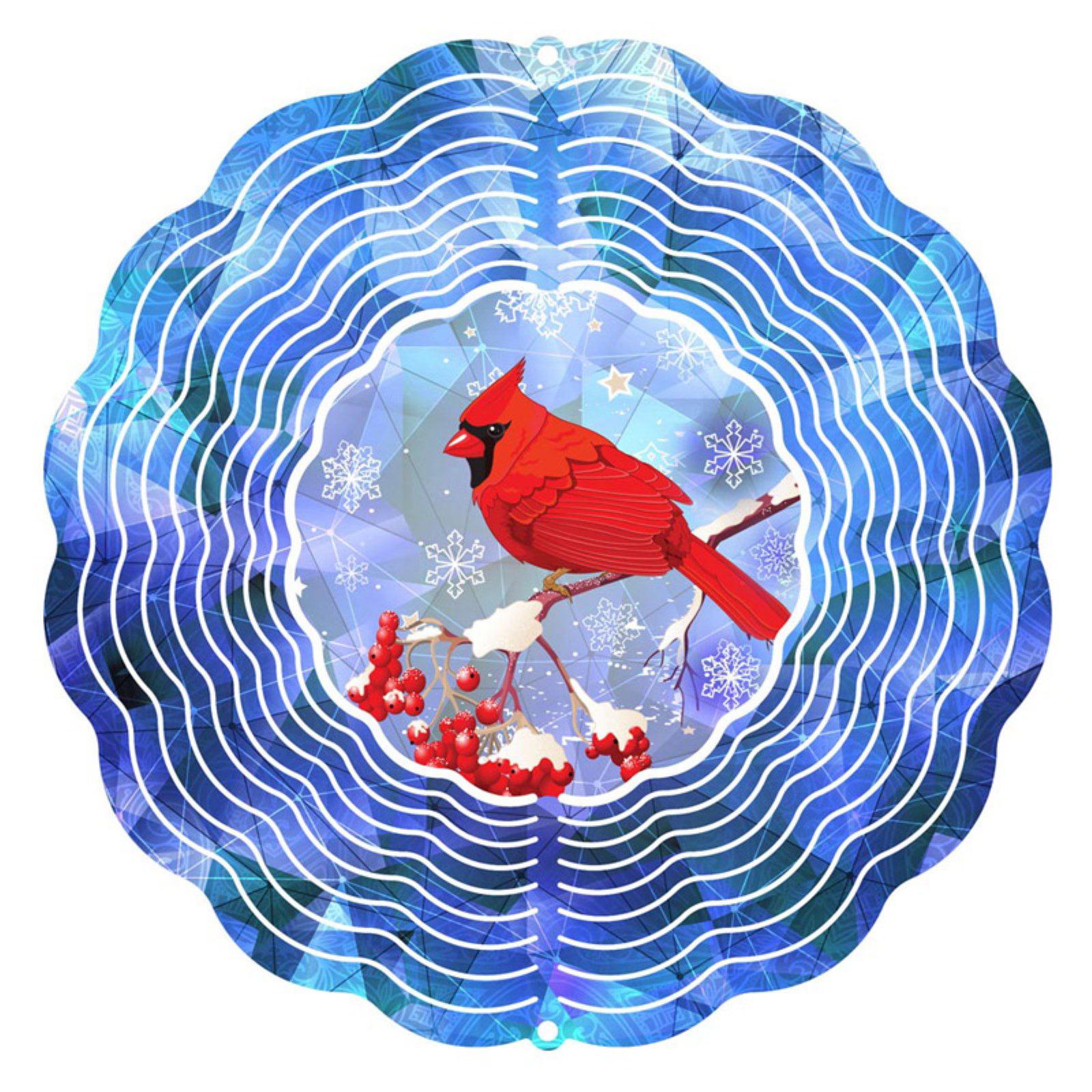 Next Innovations Winter Cardinal Wind Spinner by Next Innovations