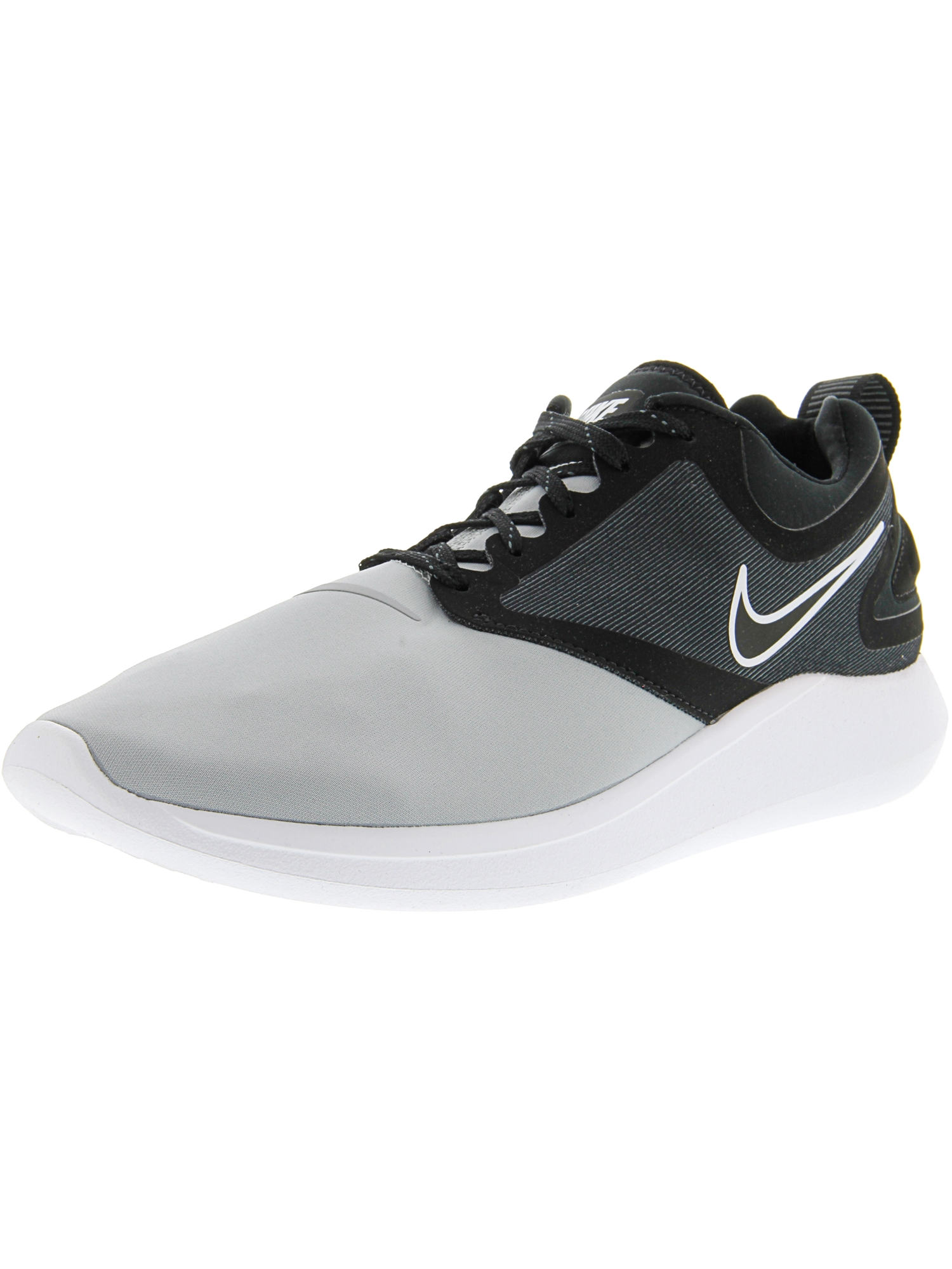 the best attitude aaedc e6625 Nike - Nike Men s Lunarsolo Wolf Grey   Black - Dark Ankle-High Running Shoe  11M - Walmart.com