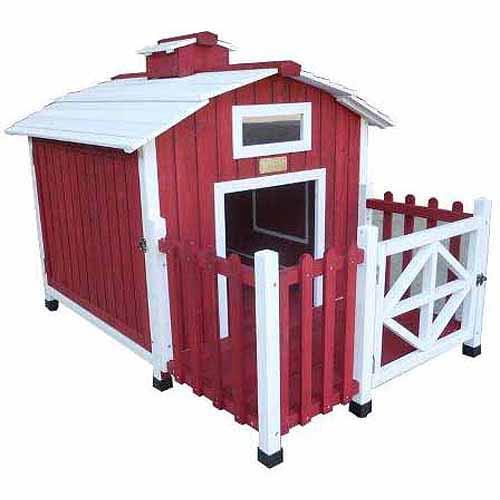 Image of Advantek Country Barn Dog House