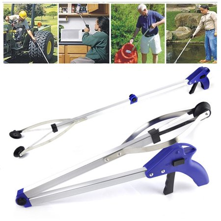 Iuhan Foldable Pick Up Reaching Long Arm Gripper Helping Hand Tool