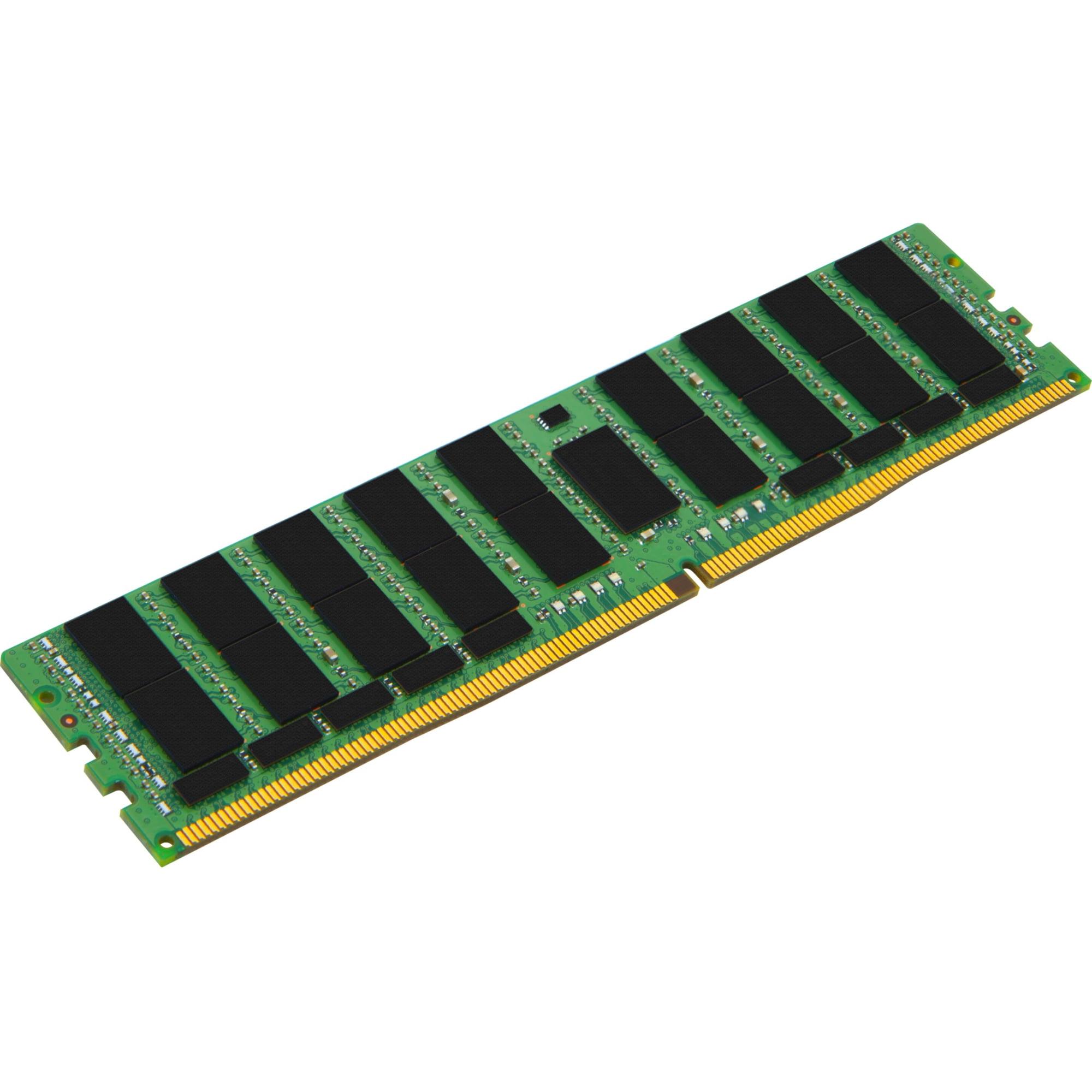 Kingston 64GB Module - DDR4 2400MHz - 64 GB - DDR4 SDRAM - 2400 MHz DDR4-2400/PC4-19200 - LRDIMM
