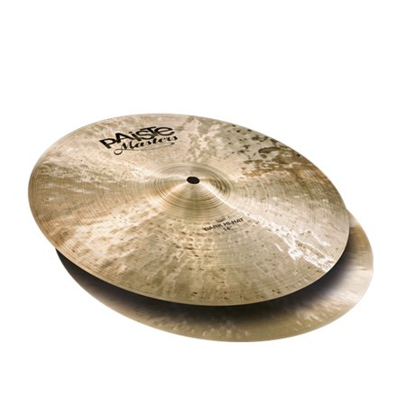 High Cymbal - Paiste 5503114 High Quality Masters Series 14-Inch Dark Hi-Hat Cymbal (Pair)