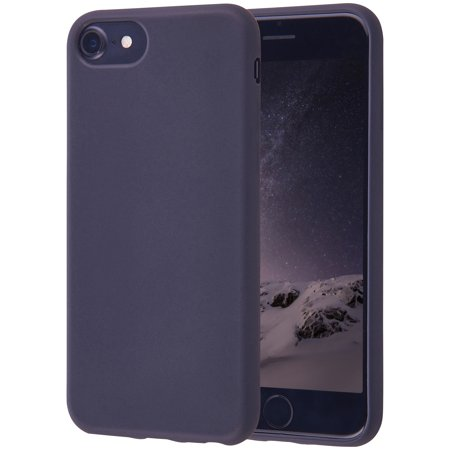 Onn Lightweight Slim Protective Case For iPhone 6/6S/7/8, Black ()
