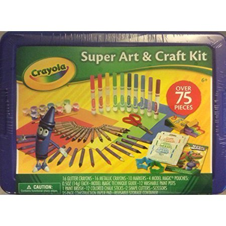 Crayola super art craft kit for Walmart arts and crafts