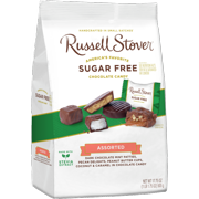 Russell Stover Sugar Free Assortment with Stevia, 17.85 oz. Bag