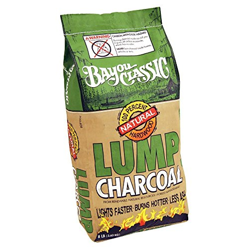 Bayou Classic Natural Lump Charcoal - 8 Pound Bag