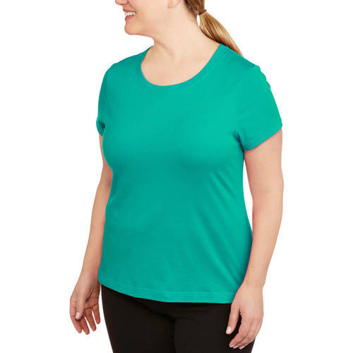 Danskin Now Womens Plus Size Dri More Core Workout Tee With Wicking
