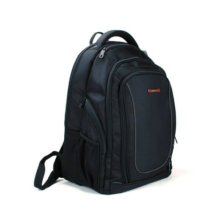 78a45df5bd Alpine Swiss - 15.6 Laptop Backpack Book Bag Notebook Case Computer Back  Pack NEW Black One Size - Walmart.com