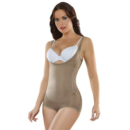 dfc67b9f1d ShapEager Body Shapers Shapewear and Fajas - ShapEager Body Shaper Faja  Powertech Shaper Thermal Hip-Hugger Slimming Shapewear Bodysuit -  Walmart.com