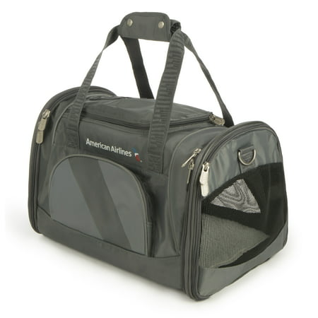 - Sherpa® Travel American Airlines® Airline Approved Duffel Pet Carrier, Medium, Charcoal