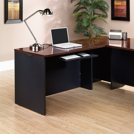 Sauder Via Desk Return in Classic Cherry - image 2 de 3