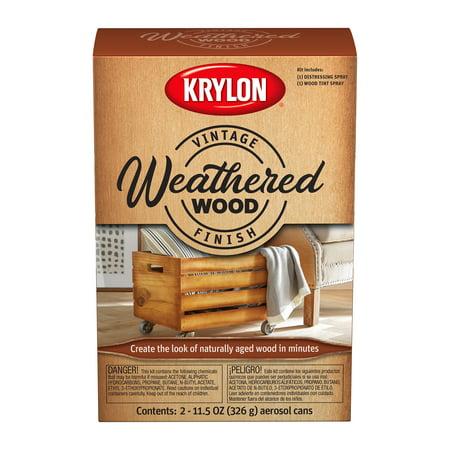 Krylon® Vintage Finish Weathered Wood Kit, 11.5-Oz