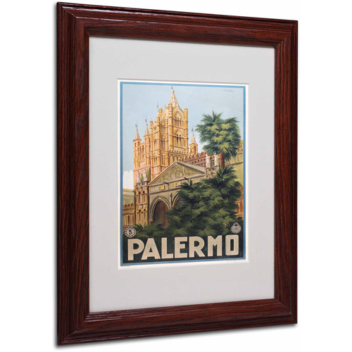 "Trademark Fine Art ""Palermo,"" Wood Frame"