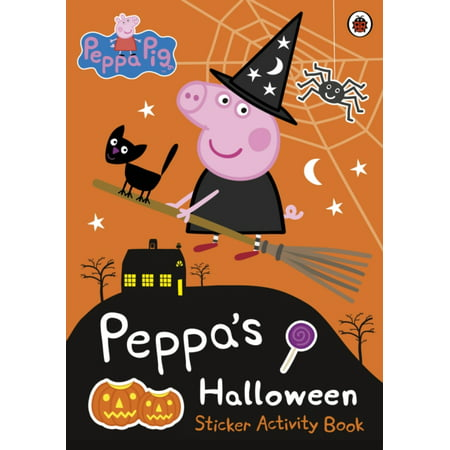 Peppa Pig: Peppa's Halloween Sticker Activity Book (Paperback) - Halloween Retail