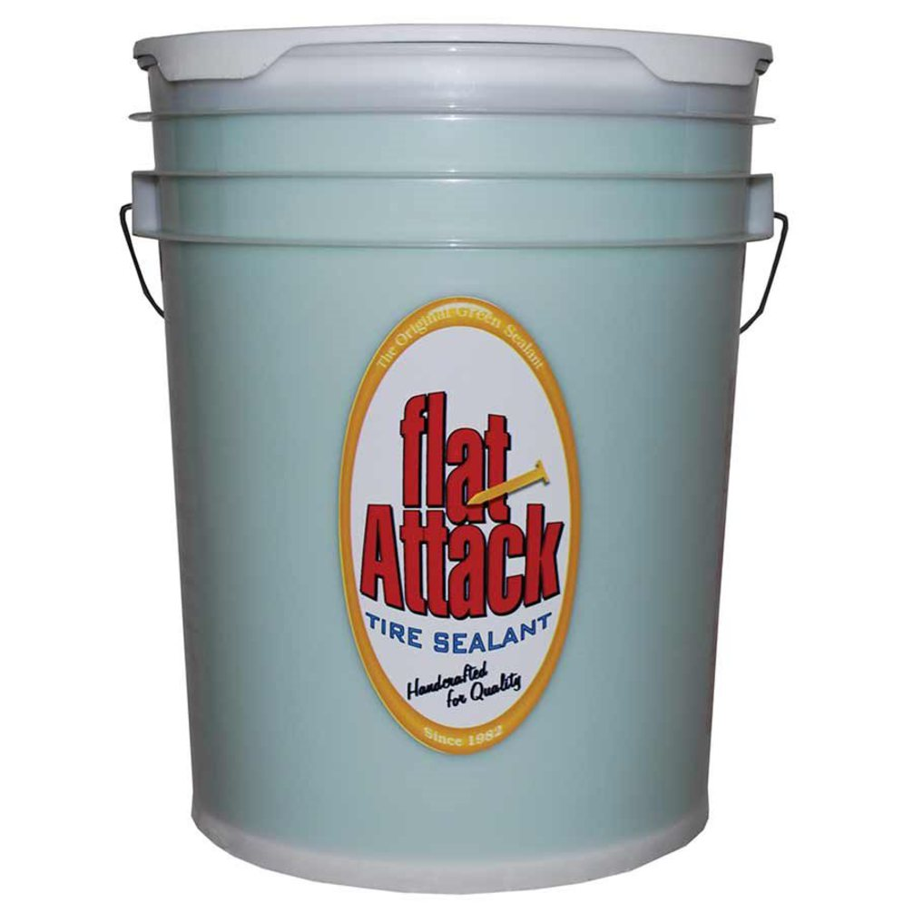 Flat Attack 5 Gallon Pail Of Sealant