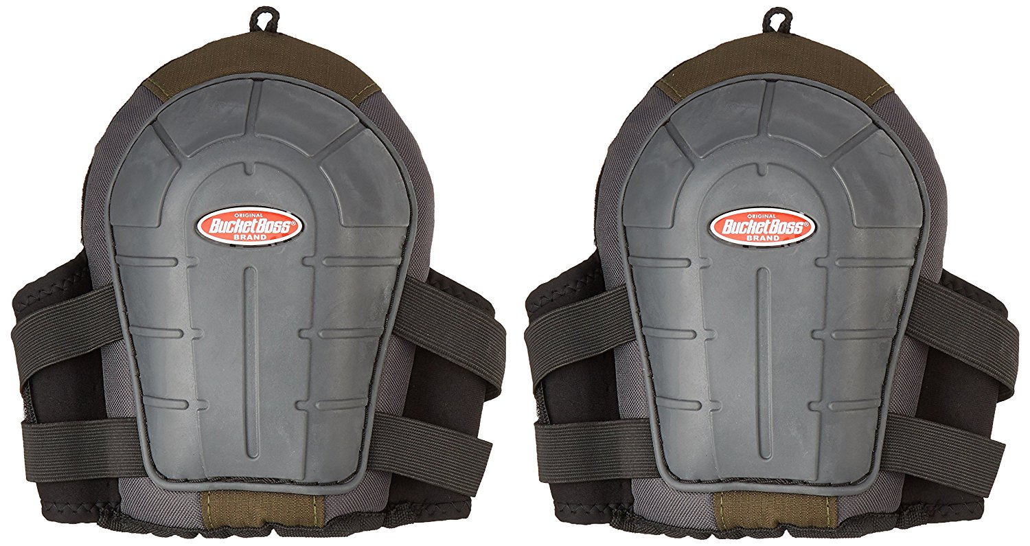 Bucket Boss 720092 2 Airgel Gel Foam Knee Pads, Super resilient air-gel padding conforms to your... by