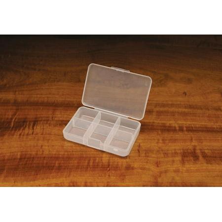 Hareline Midge Fly Box 6 Compartment - Fly Fishing or Fly Tying