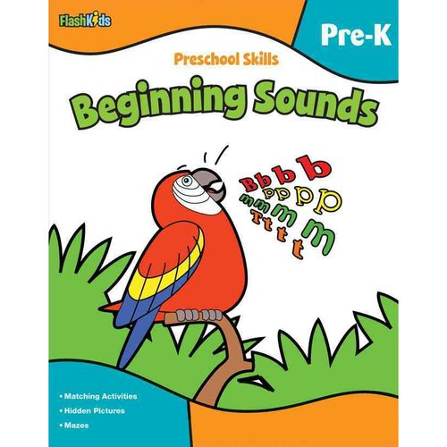 Preschool Skills: Beginning Sounds, Pre-k by