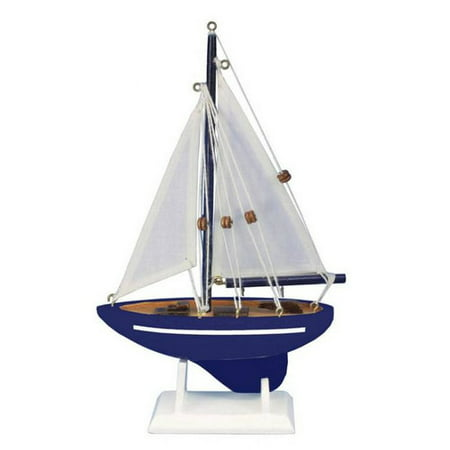 handcrafted nautical decor gone sailing model sailboat