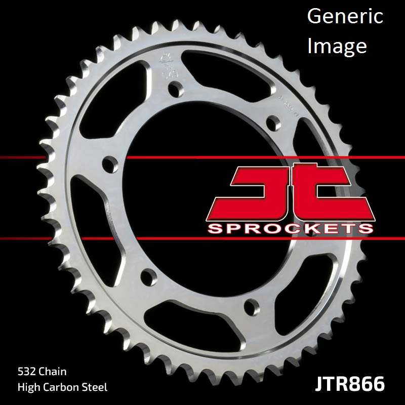 JT Steel Rear Sprocket 47T for Street YAMAHA GTS1000A/AC 1993-1997