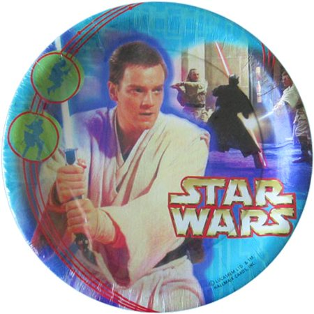 Star Wars 'Episode I' Small Paper Plates (8ct) - Star Wars Paper Plates