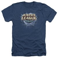 Justice League Storm Logo Mens Heather Shirt
