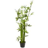 5' Green Bamboo Artificial Tree