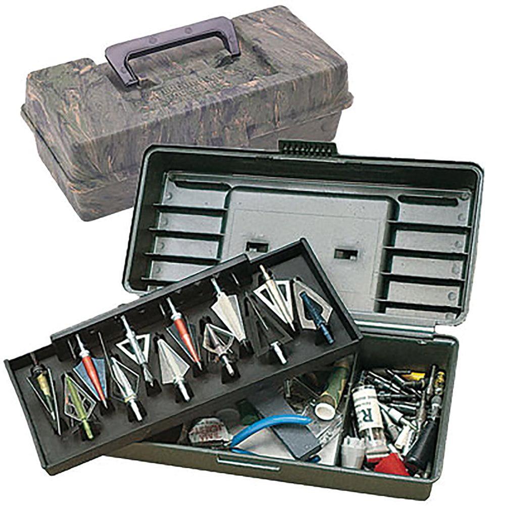 MTM Broadhead Tackle Box, Camouflage by MTM Case-Gard