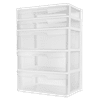 Sterilite, 5 Drawer Wide Tower, White