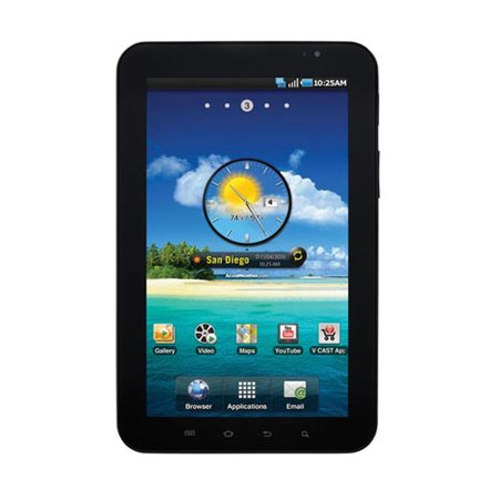 Samsung Galaxy Tab SCH-i800 Replica Dummy Phone / Toy Tablet (Black) (NON-WORKING (Best Afunta Tablet Phones)