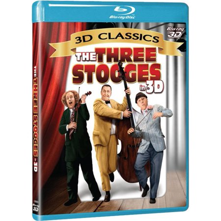 The Three Stooges in 3D (Blu-ray + Blu-ray 3D)](The Real Three Stooges)