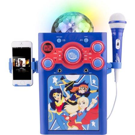 Dc Superhero Girls Disco Ball Karaoke