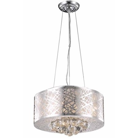 Elegant Lighting Prism 16   4 Light Royal Crystal Pendant Lamp