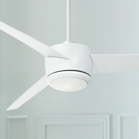 54 casa vieja modern ceiling fan with light led dimmable - Bedroom ceiling fans with remote control ...