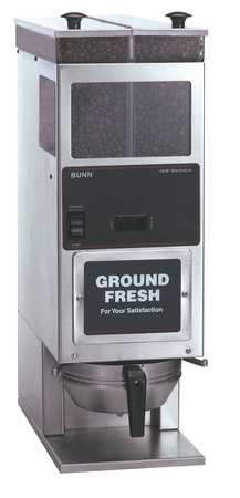 BUNN G92 Portion Control Coffee Grinder, H 25 by Bunn