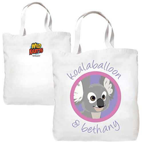 Personalized Wild Kratts Koalaballoon and You Tote Bag