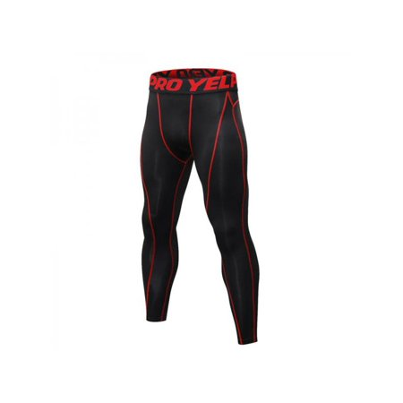 c983c79bed55f Men's Sports Skin Tights Base Pants - Walmart.com