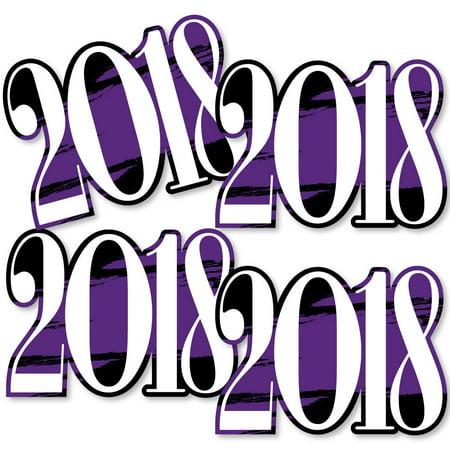 Diy Graduation Decorations (Purple Grad - Best is Yet to Come - 2018 Decorations DIY Purple Graduation Party Essentials - Set of)